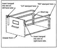 Hon File Cabinet Parts And Accessories File Bars Hangrails