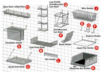 Metro SmartWall Shelving and Accessories