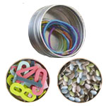 Round Magnetic Tins