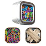Square Magnetic Tins