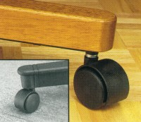 Hardwood Floor Caster - Compare Prices, Reviews and Buy at Nextag